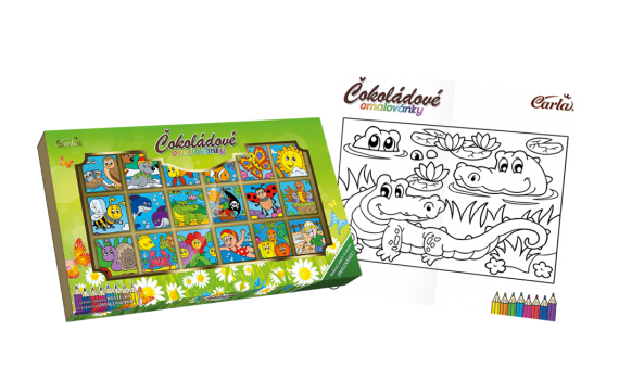 Universal coloring book 90 g