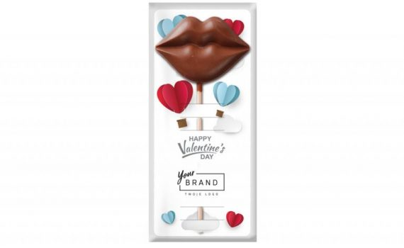 Valentine Chocolate lips