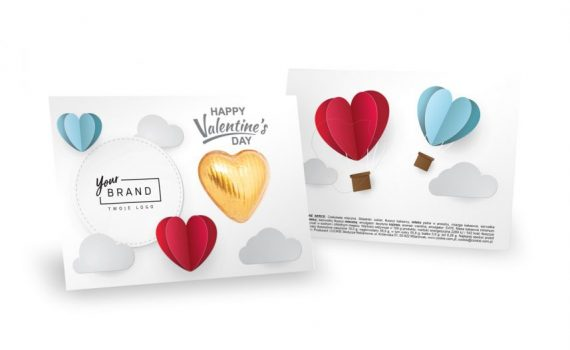 Valentine sweet leaflet