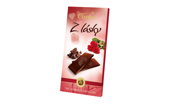 Valentine's Day 80 g - 70% dark chocolate