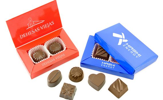 Promotion Duo Pralines made of milky