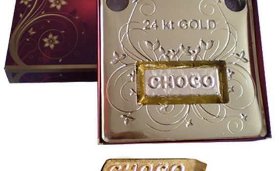 Chocolate Brick 15g in a gift box