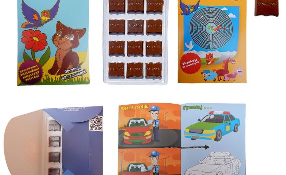 Chocolate Library 60g - Playful chocolate - all year round