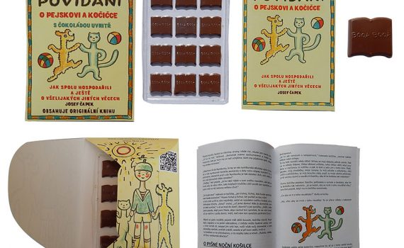 Chocolate Library 60g - Talking about a dog and a cat