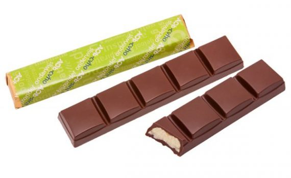 Chocolate bars with 5 segments