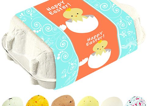 Easter egg mix with different filling 6 pcs
