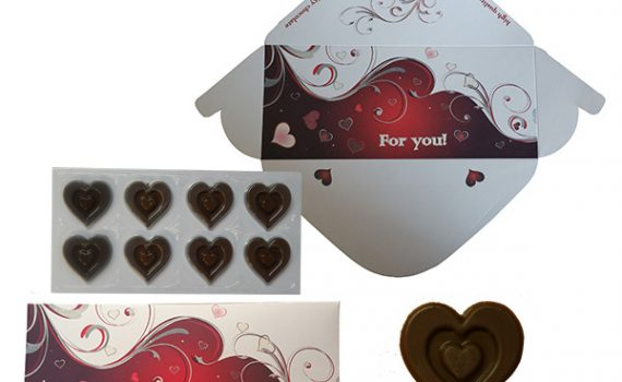 FOR YOU Chocolate envelope 60g
