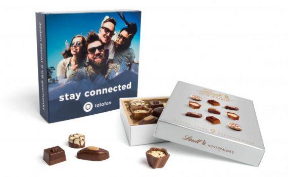Promotion Lindt Mini Pralinés in slipcase