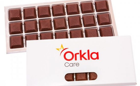 Promotion Belgian chocolate 44% cocoa 105 g