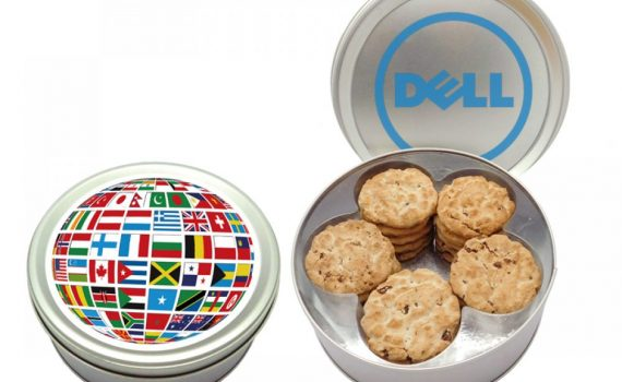 Promotion Cookies in tin