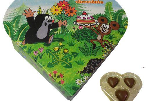 Promotion Heart in blister 24g - Mole