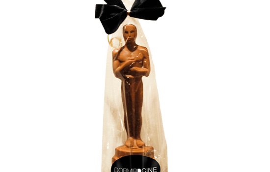 Promotion bag with chocolate oscar