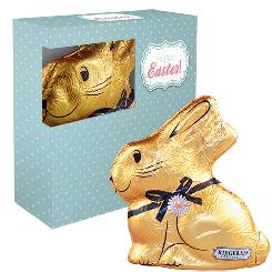 Chocolate Easter bunny 60g, folding box with window