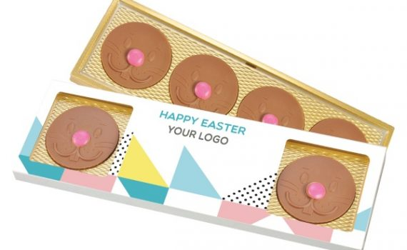 Easter 4 pcs chococalates Bunny nose