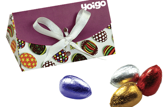 Easter Box with chocolate eggs