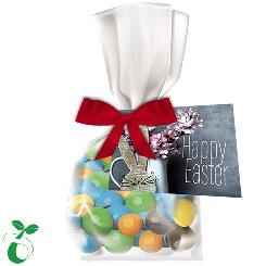 Easter coloured peanuts 30g, organic foil flat bag