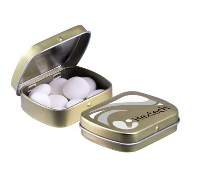 Mini hinged tin Mentos