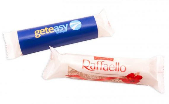 Promotion Rafaello Pralines in wrapper 46 g