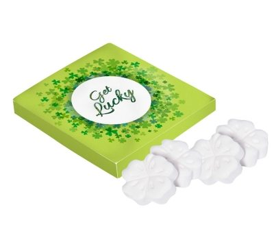Promotion box lucky clovers