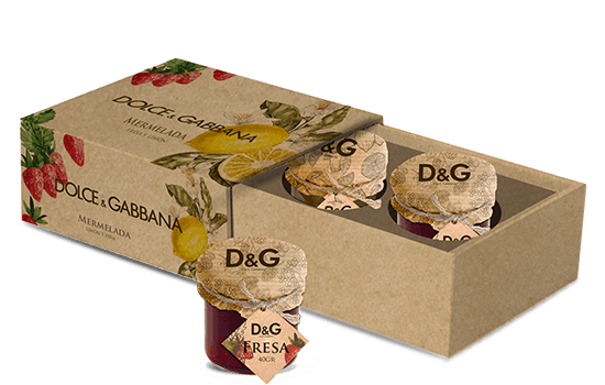 Promotion cardboard box with jams