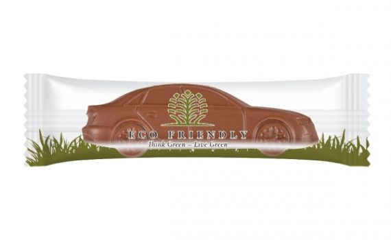 Promotion chocolate car 9 g