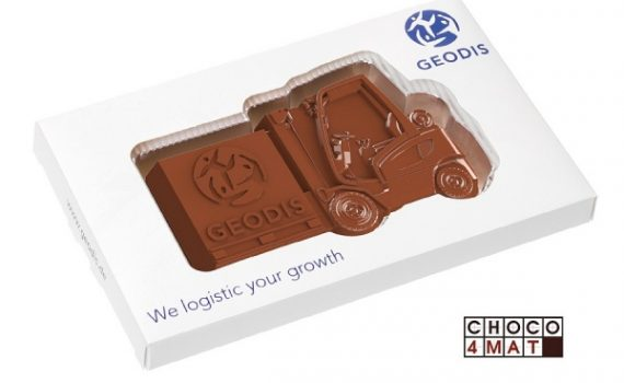 Promotion chocolate forklift