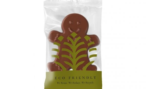 Promotion chocolate gingerbread man 15g