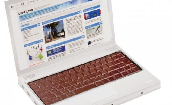 Promotion chocolate notebook