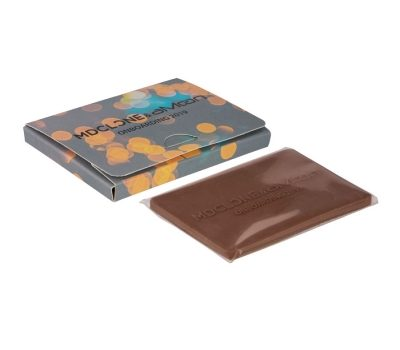 Promotion creditcard chocolate 25g