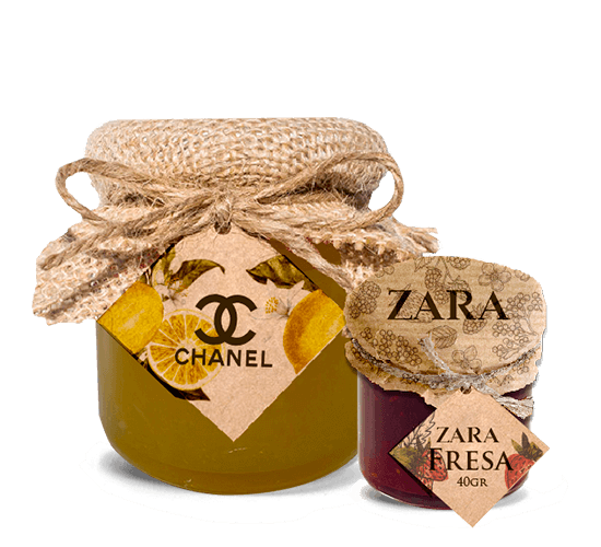 Promotional Can of jam 210g and 40g