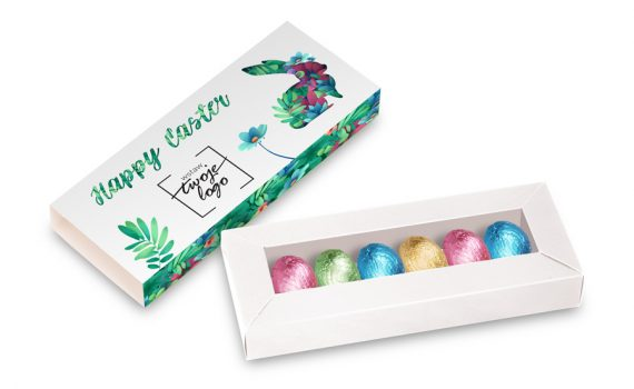 Easter 6 pcs chocolates in a box