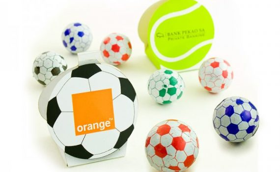Promotion Chocolate in ball baxes