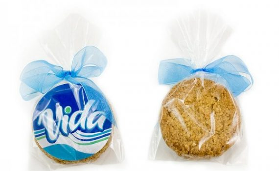 Promotion Oat Cookies in bags with bow