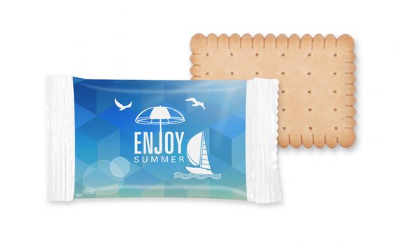 Promotion flow pack biscuit