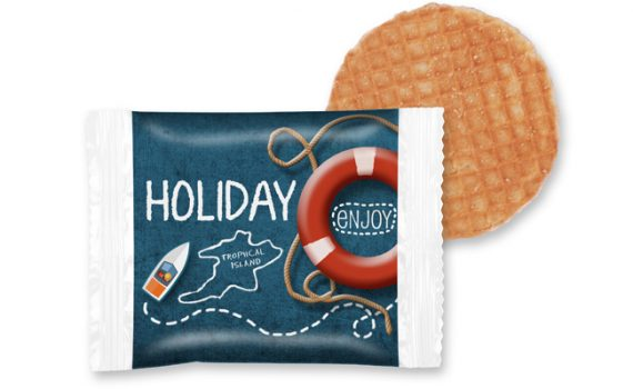 Promotion wafer cookie