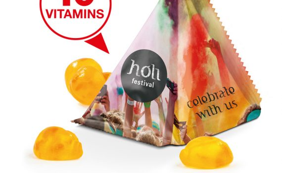 Vitamin Jelly Gums Tetrahedron